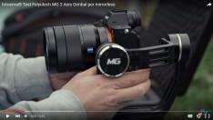 Aynasız kameralara özel Feiyu-Tech MG Professional gimbal modeli satışlarda