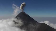 Ulaşılmaz Volkan Zirvelerinin Görüntüleri Drone'la Çekildi