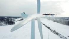 Letonya merkezli Aerones, rüzgar türbinlerinin bakımlarını drone ile sağlıyor
