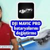 Türkçe DJI Mavic pro bataryalarını nasıl sökeriz ?