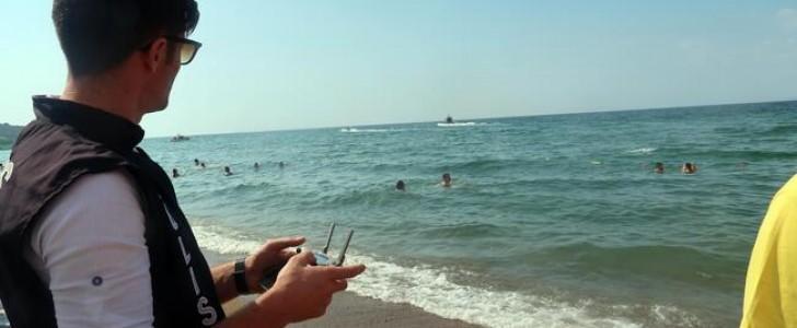 Türkiye'de deniz ve plajlarda drone denetimi başladı