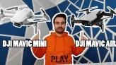 Dji Mavic Mini vs Dji Mavic Air , Hangi Drone'u almalıyım?
